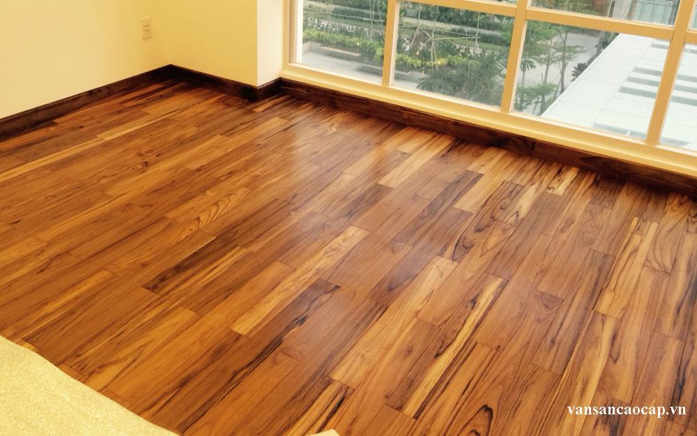 Vì sao ván sàn gỗ teak được ưa chuộng